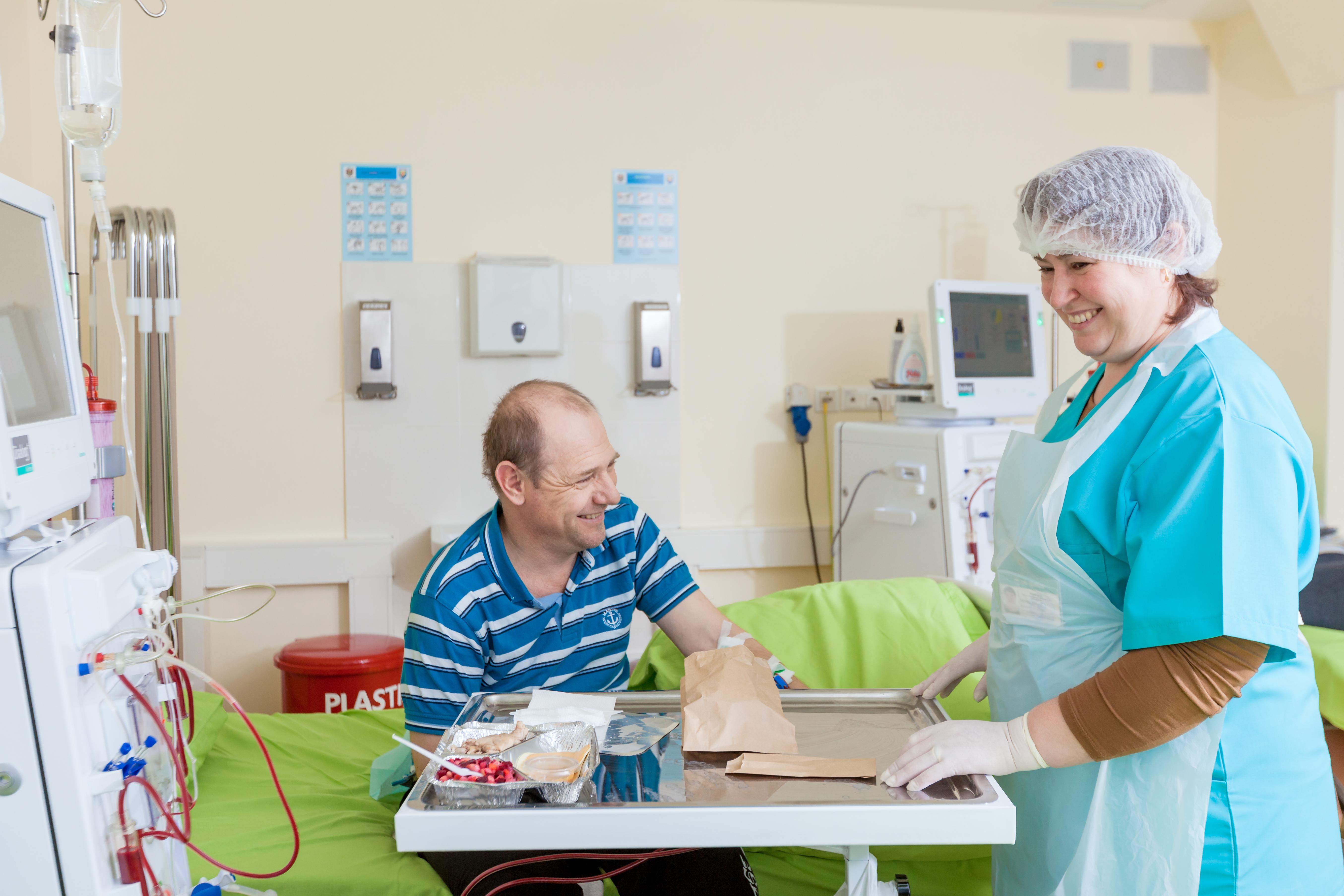 IMPORTANT despre dieta pacientului inclus în dializă