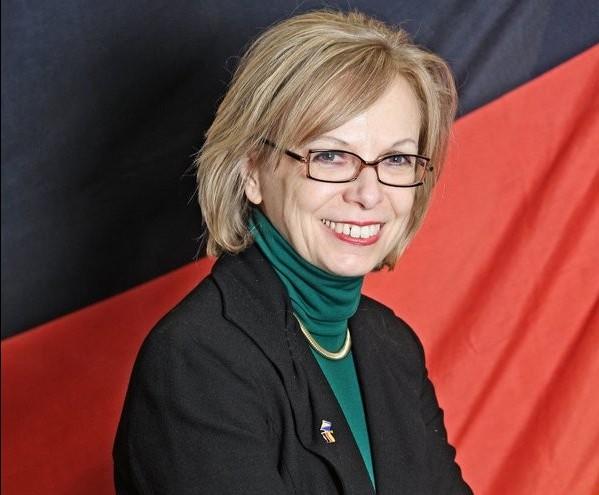 """Ulrike Knotz: """"Cu tehnologii germane va fi îmbunătăţită asistenţa medicală din Republica Moldova""""         // FOTO: © German Embassy Sarajevo / Nino Maričić"""