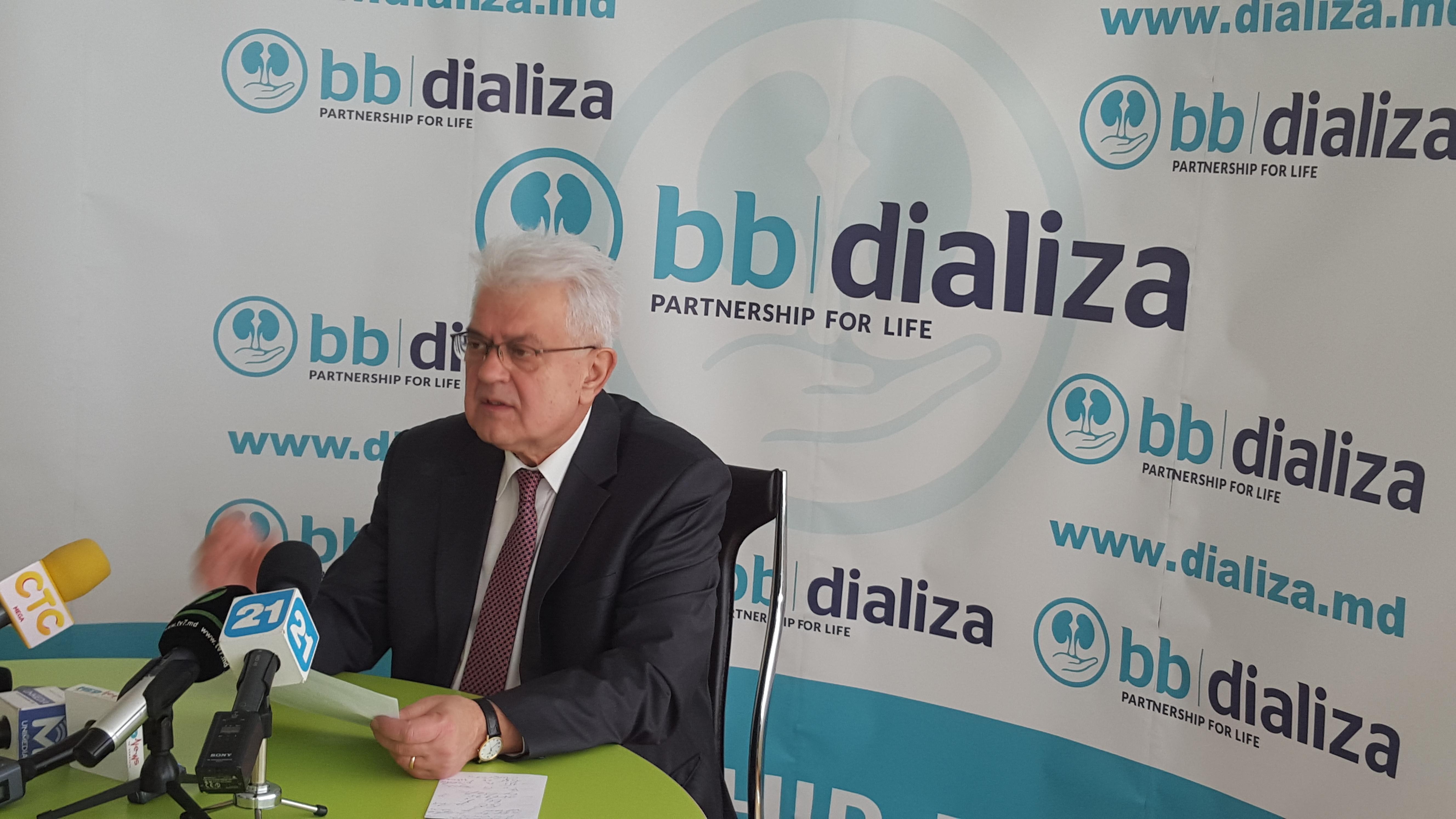 """""""Ne consolidăm eforturile pentru îmbunătăţirea calităţii vieţii pacienţilor cu boli renale"""""""