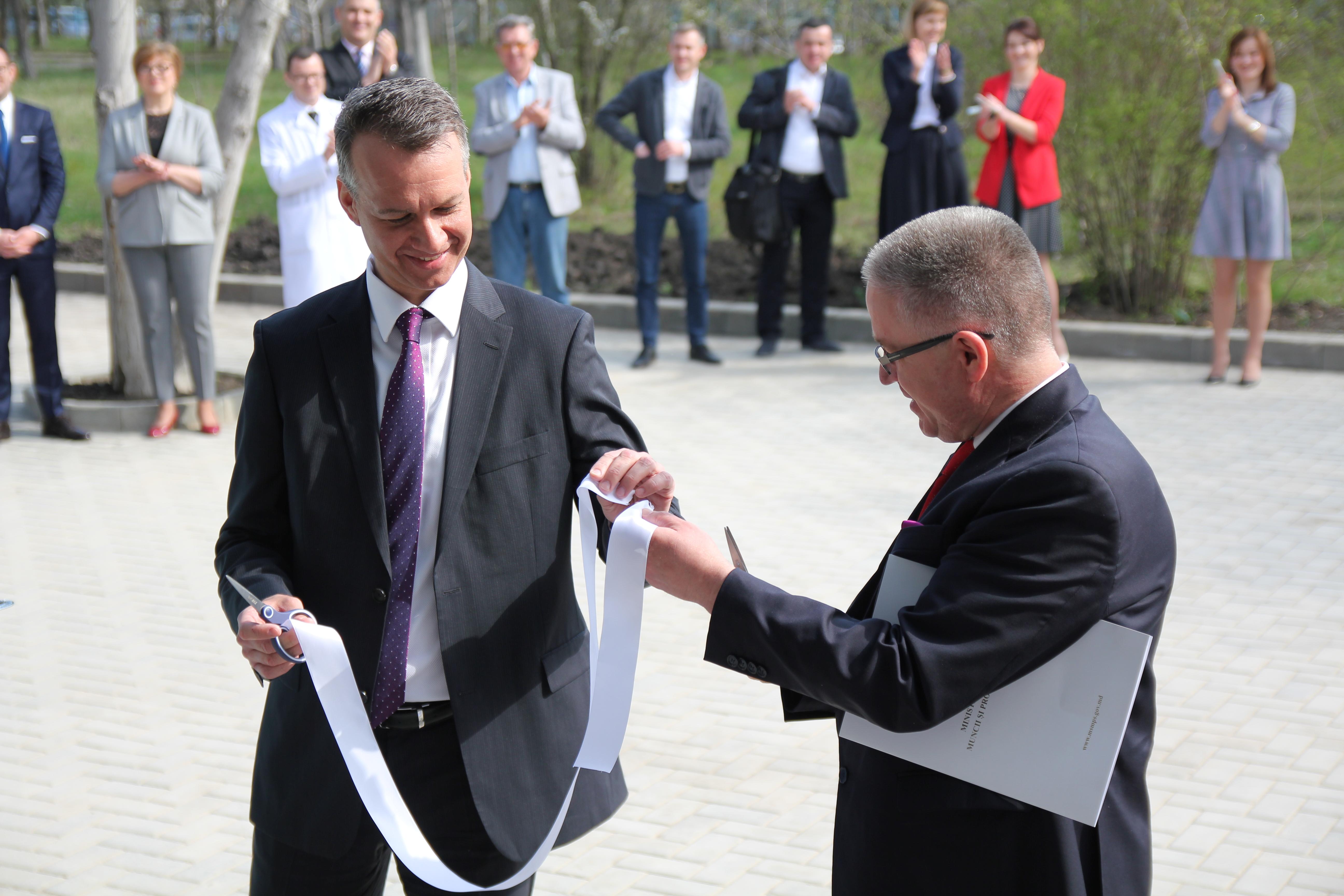 """Lansare oficială a Centrului """"BB-Dializă"""" din Bălți //VIDEO"""