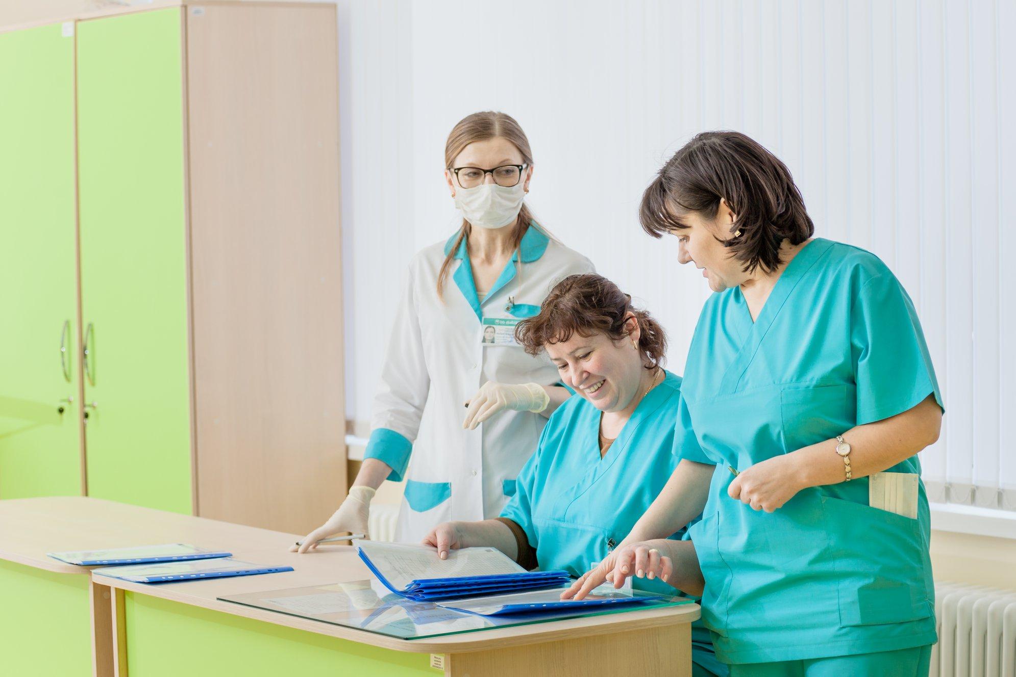 👩🔬Mai multe locuri de muncă pentru asistente medicale în Chișinău!