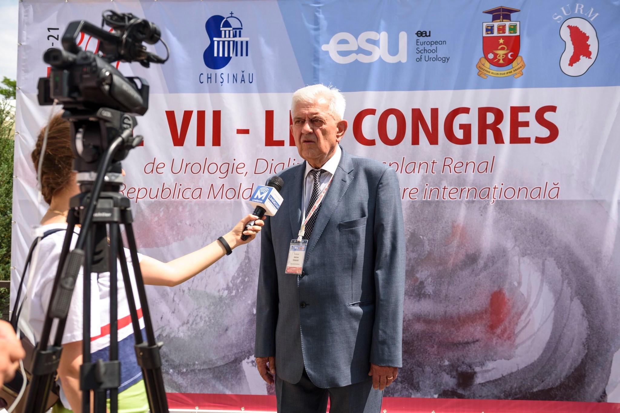 В Кишинёве проходит VII-й Конгресс по вопросам урологии, диализа и трансплантации почки