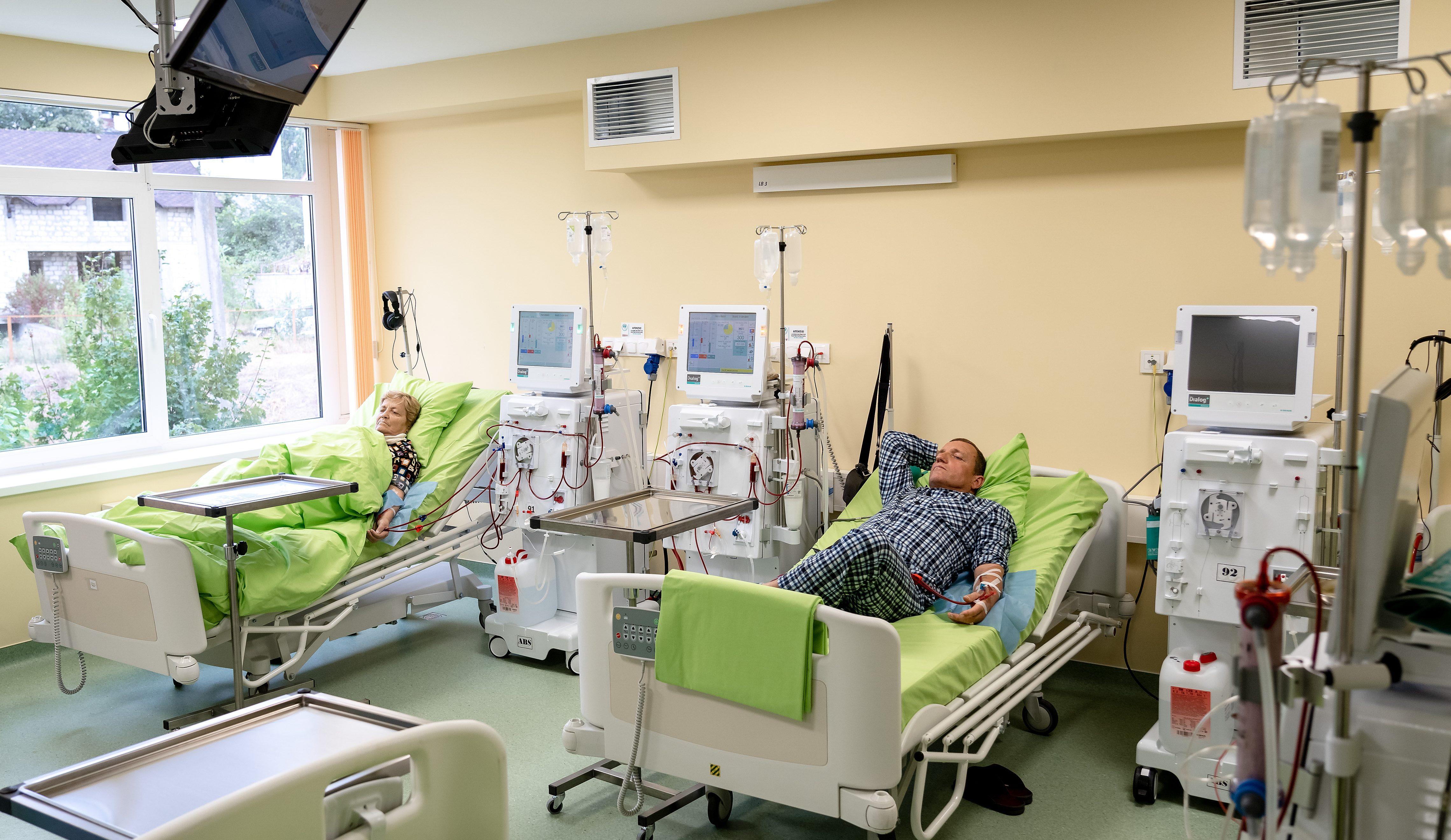 Mai mult decât un Centru de Dializă pentru pacienții din regiunea SUD a țării (galerie FOTO)